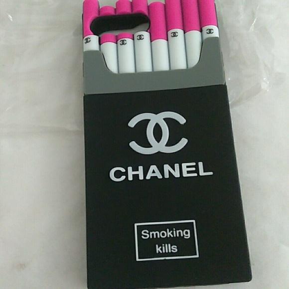 size 40 dde40 c2c0a Case iphone 7plus 8plus chanel